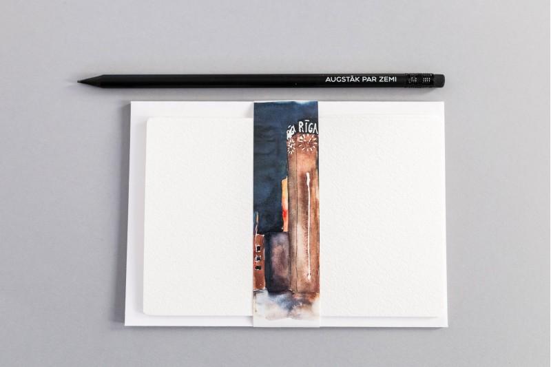 """Grafīta zīmulis """"Augstāk par zemi"""""""